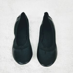 Charlotte Russe Tarynn Black Ballerina Flats